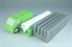 3Dプリンターで造形した独自製品
