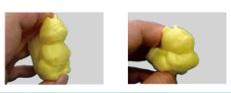 HPフィラメント®スーパーフレキシブルタイプは独自配合により製作した軟質フィラメントです