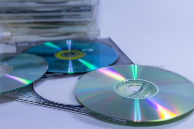 大量のCD