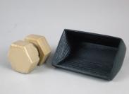 製品写真:PEEK製3Dプリンター成形品受託加工